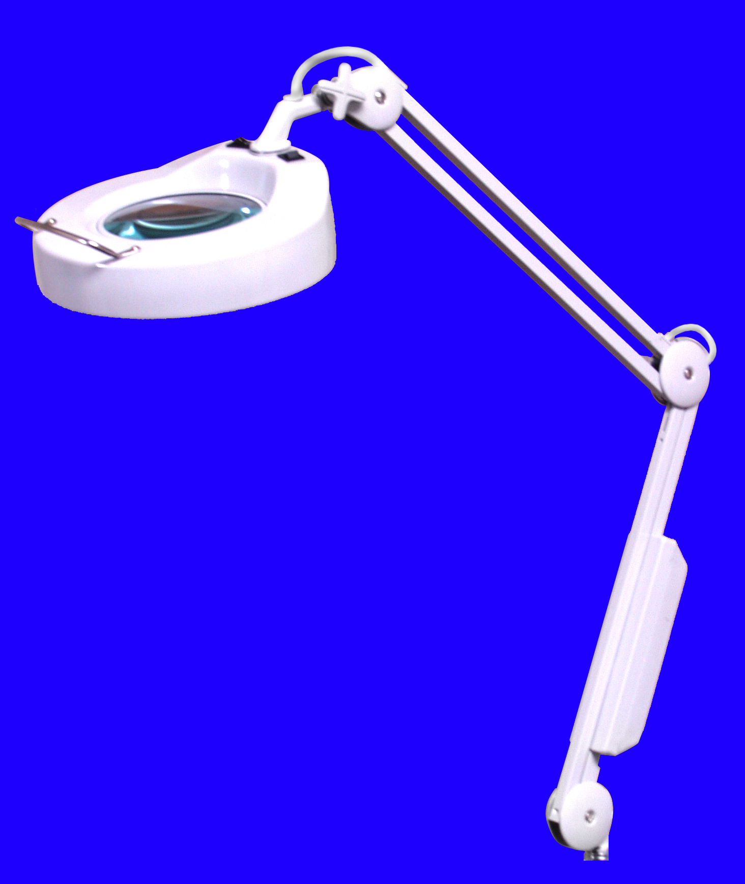 Wall Mount Magnifying Lamp : Brandt Industries - Lamps - Illuminated Magnifiers - 5 Diopter Illuminated Magnifier Lamp Wall Mount